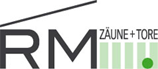 RM Zäune + Tore - Logo